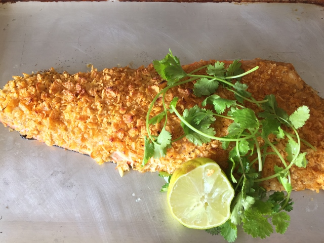 Cornflake Crusted Salmon – Recipe! Image 7