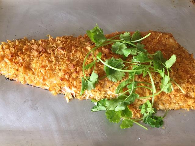 Cornflake Crusted Salmon – Recipe! Image 2