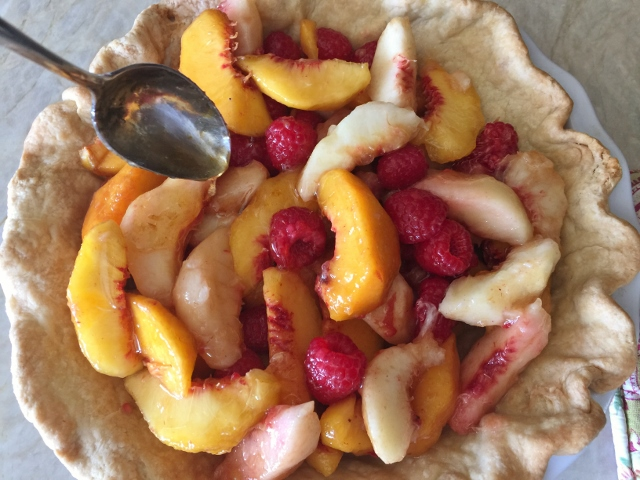 Peach Raspberry Pie – Recipe! Image 13
