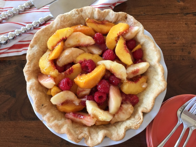 Peach Raspberry Pie – Recipe! Image 2