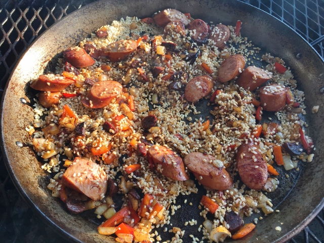 Seafood & Sausage Paella on the Grill – Recipe! Image 7