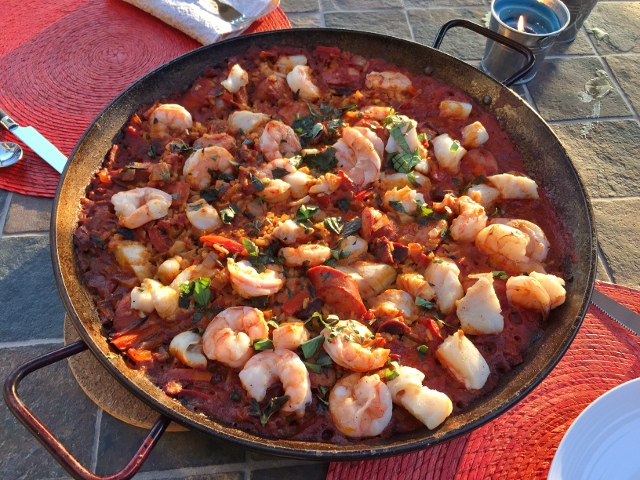 Seafood & Sausage Paella on the Grill – Recipe! Image 2
