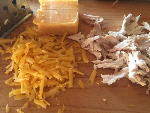 Chicken, Cheddar & Sauteed Zucchini Quesadillas – Recipe! Image 4