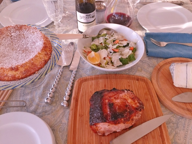 Social Sundays – Pork Loin with Peachy Mustard Glaze, Carrot & Celery Salad, and Lemon Almond Flourless Cake! Image 2