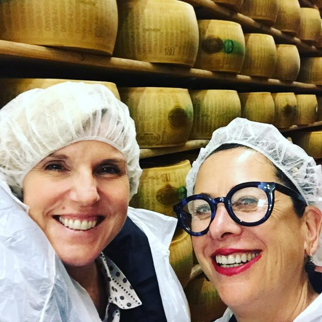 Nancy Silverton and I at Scalabrini Parmigiana Fattoria! Parmesan Cheesehellip