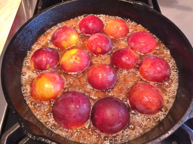 Upside-Down Plum Cornmeal Cake – Recipe! Image 3