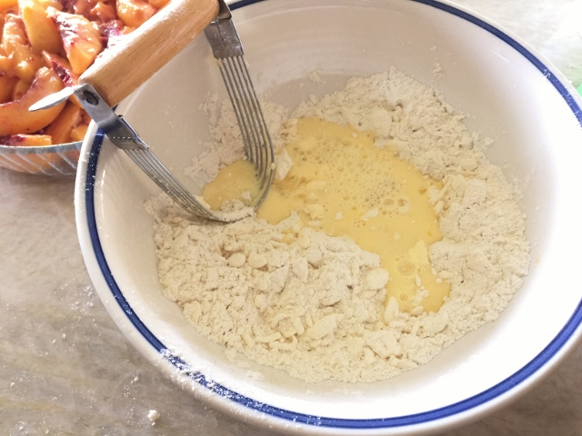 Peach Cobbler with Vanilla Bean Whipped Cream – Recipe! Image 8