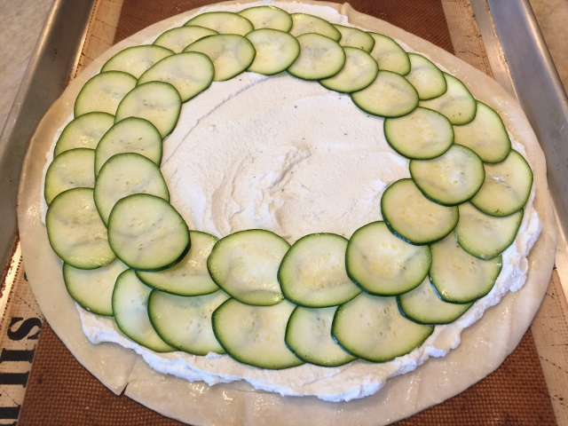 Zucchini & Goat Cheese Tart – Recipe! Image 4