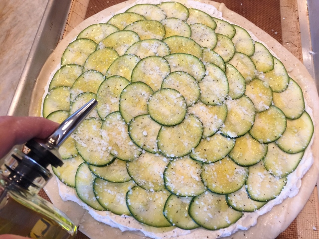 Zucchini & Goat Cheese Tart – Recipe! Image 7