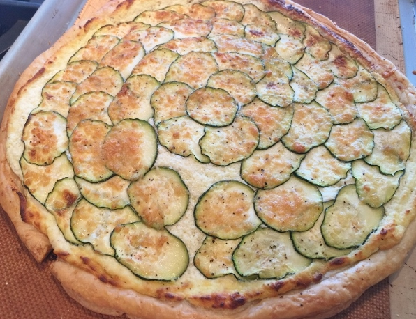Zucchini & Goat Cheese Tart – Recipe! Image 8