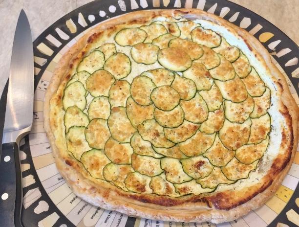 Zucchini & Goat Cheese Tart – Recipe! Image 1