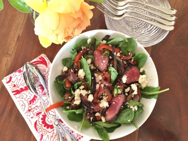 Mexican Steak Salad for Two – Recipe! Image 1