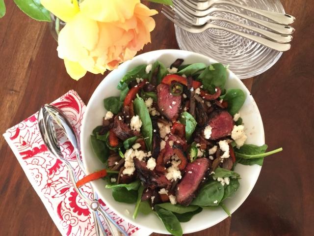 Mexican Steak Salad – Recipe! Image 1