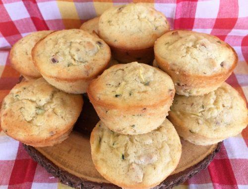 Zucchini Pineapple & Hazelnut Muffins – Recipe!