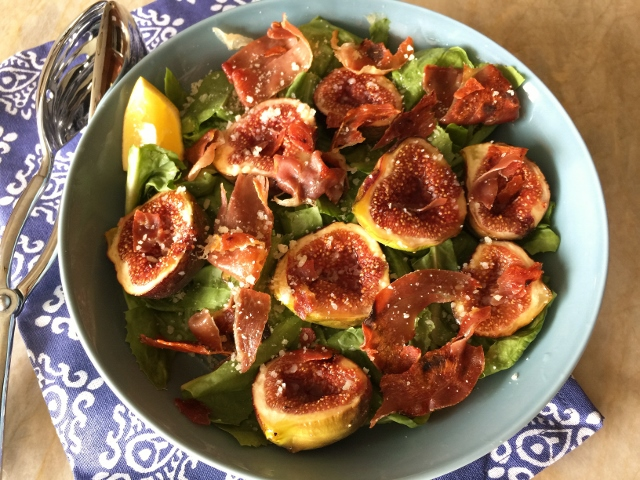 Honey Figs & Crispy Prosciutto Salad – Recipe! Image 1