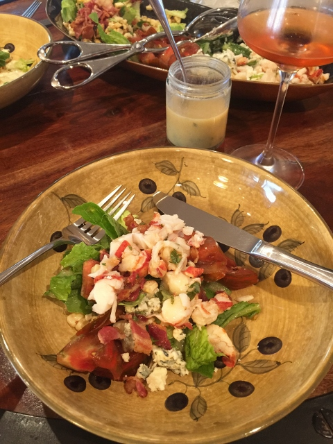Lobster Cobb Salad with Thyme Vinaigrette – Recipe! Image 11