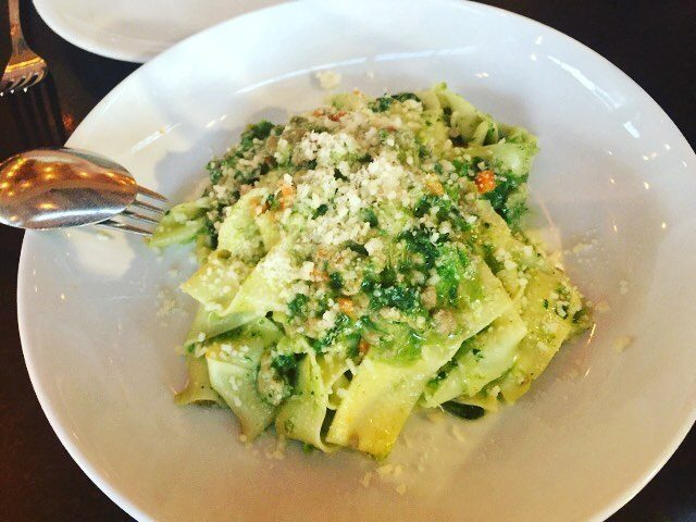 Rossoblu Downtown Los Angeles! Crazy good handmade pastas! losangelesdining rossoblulahellip