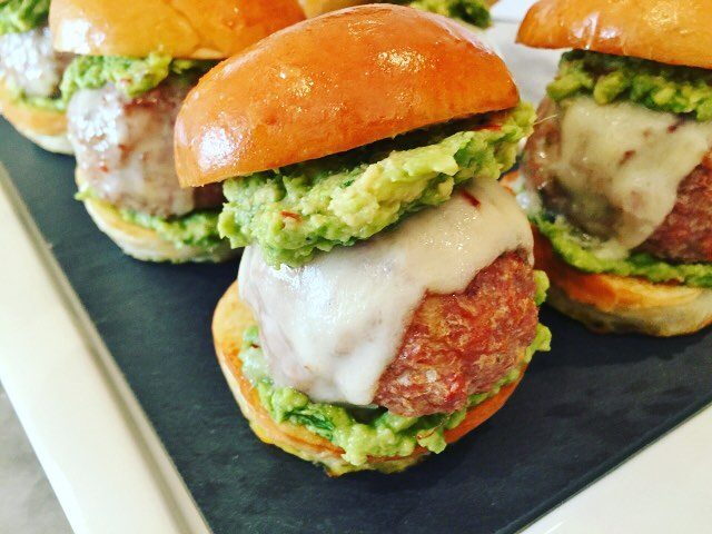 Mexican Turkey Meatball Sliders! Are you getting ready for Superhellip