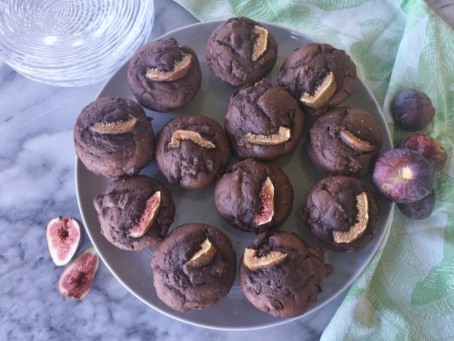 Dark Chocolate Fig Muffins – Recipe! Image 1