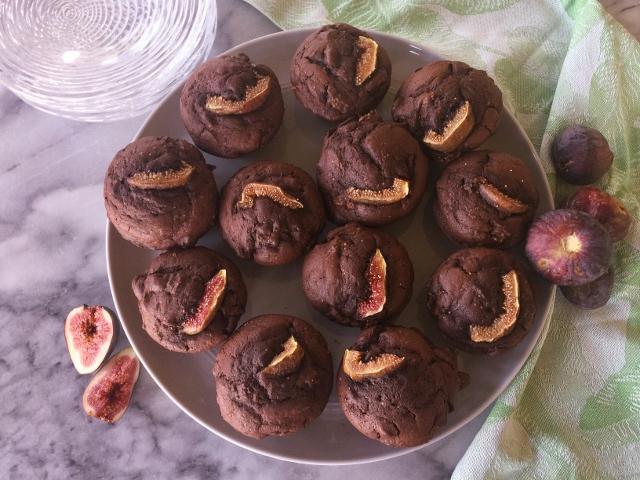 Dark Chocolate Fig Muffins – Recipe! Image 2