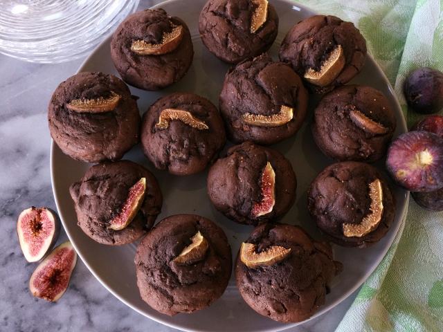 Dark Chocolate Fig Muffins – Recipe! Image 1