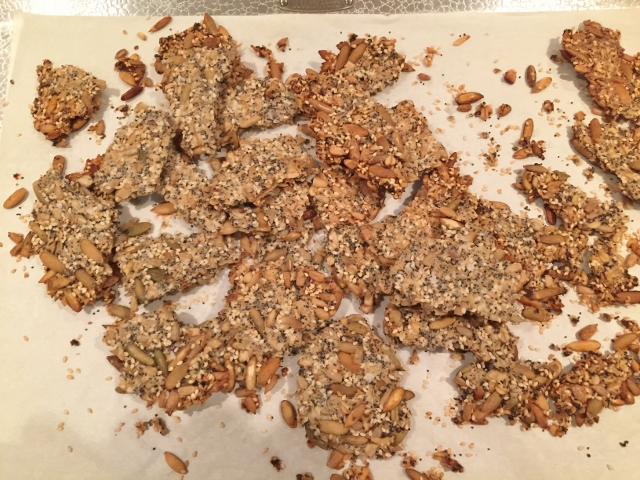 Seedy Crackers – Recipe! Image 8