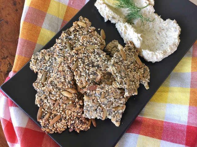 Seedy Crackers – Recipe! Image 2