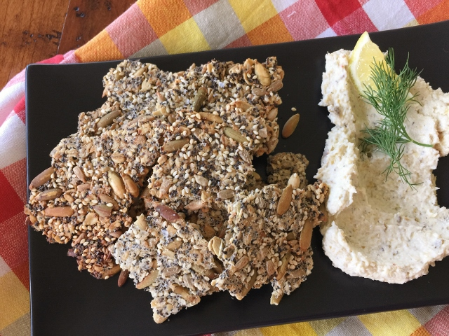 Seedy Crackers – Recipe! Image 1
