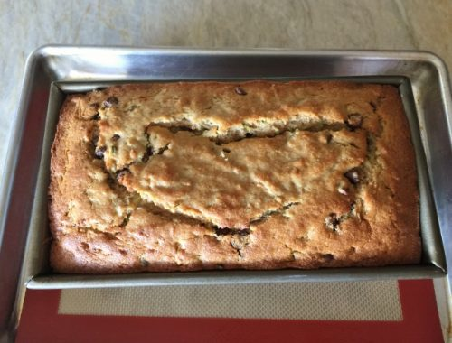 Whole Wheat Chocolate Chip Zucchini Bread – Recipe! (Video)