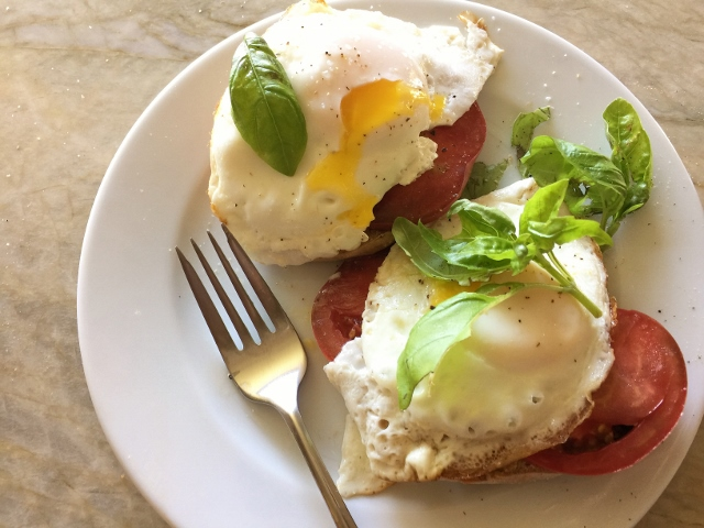 Heirloom Tomato & Basil Egg Tartines – Recipe! Image 2
