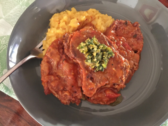 Social Sundays – Osso Bucco, Risotto Milanese, and Apple Crostata with Video! Image 3
