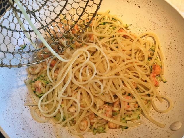 Langoustine Arugula Pesto Pasta – Recipe! Image 9