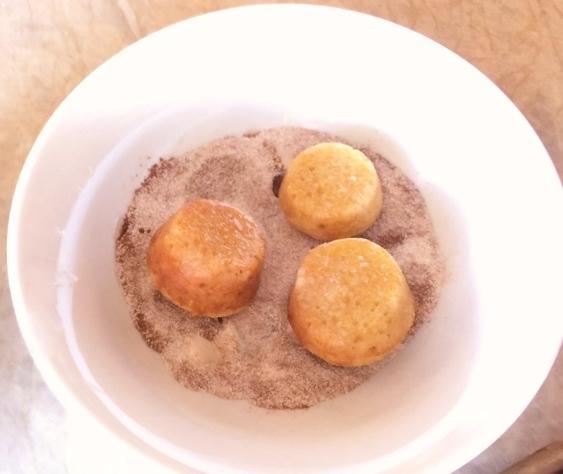 Gluten-Free Mini Apple Cider Doughnut Muffins – Recipe! Image 5