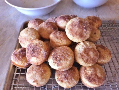 Gluten-Free Mini Apple Cider Doughnut Muffins – Recipe!