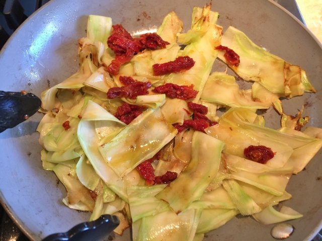 Broccoli Pappardelle with Sun Dried Tomatoes & Toasted Garlic – Recipe! Image 8