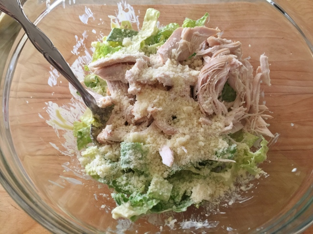 Chicken & Avocado Caesar Salad Flatbread – Recipe! Image 9