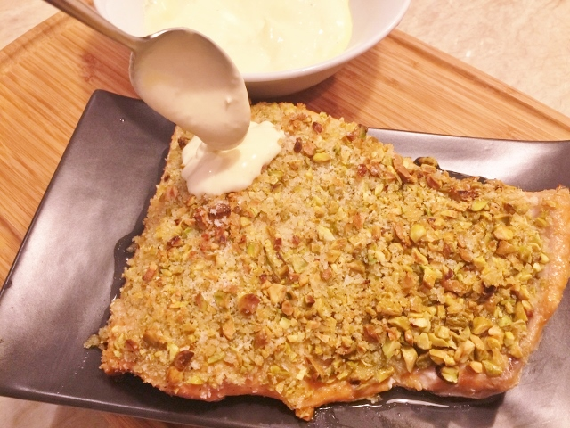Pistachio Crusted Salmon – Recipe! Image 1
