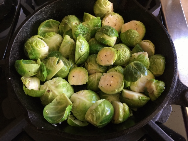 Roasted Brussels Sprouts in Chile Lime Sauce – Recipe! Image 4