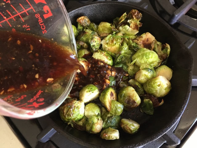 Roasted Brussels Sprouts in Chile Lime Sauce – Recipe! Image 7