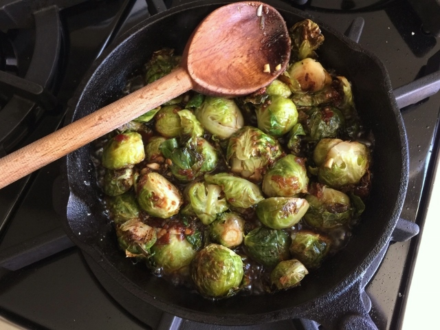 Roasted Brussels Sprouts in Chili Lime Sauce – Recipe! Image 2