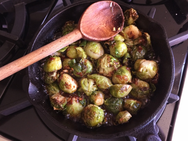 Roasted Brussels Sprouts in Chile Lime Sauce – Recipe! Image 8