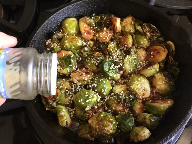 Roasted Brussels Sprouts in Chili Lime Sauce – Recipe! Image 4