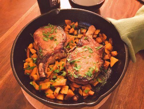 Easy Chilean Sea Bass with Radicchio & Mushroom Sauce – Recipe!  Great Weeknight Meals! Image 3
