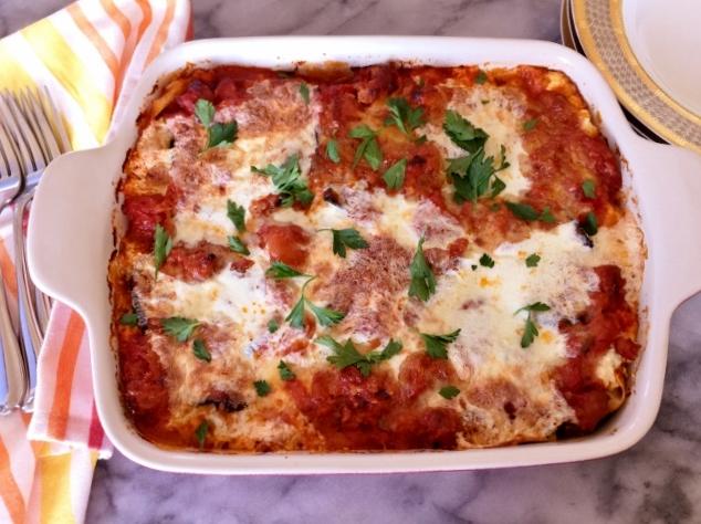 Roasted Eggplant & Sausage Lasagna – Recipe! Image 2