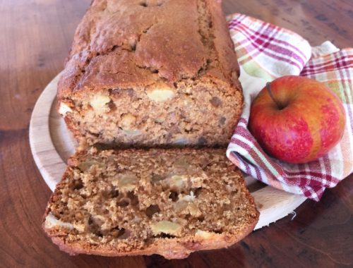 Whole-Wheat Apple Walnut Bread – Recipe!