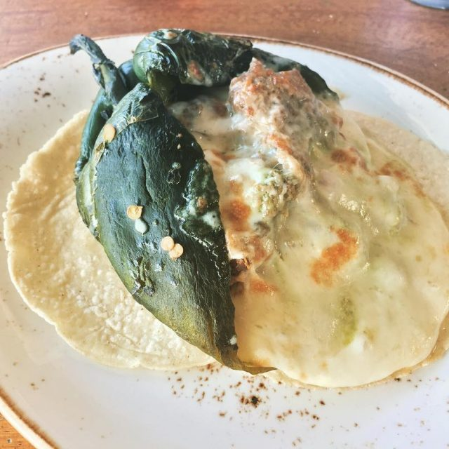 Best Stuffed Poblano at Los Agaves in Santa Barbara! livelovelaughfoodhellip