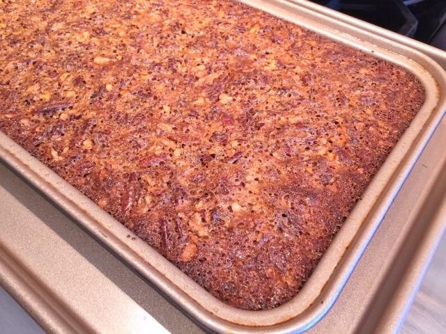 Pecan Pie Bars with Chocolaty Crust – Recipe! Image 5