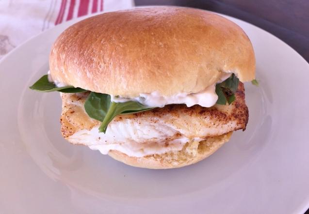 Halibut Fish Sandwiches – Recipe! Image 1