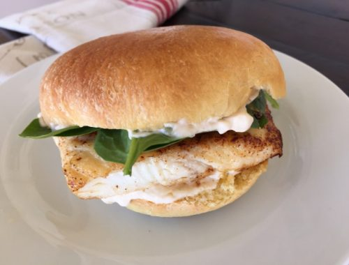 Halibut Fish Sandwiches – Recipe!