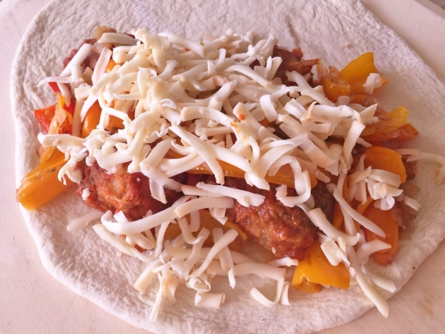 Meatball & Sweet Pepper Calzones – Recipe! Image 5
